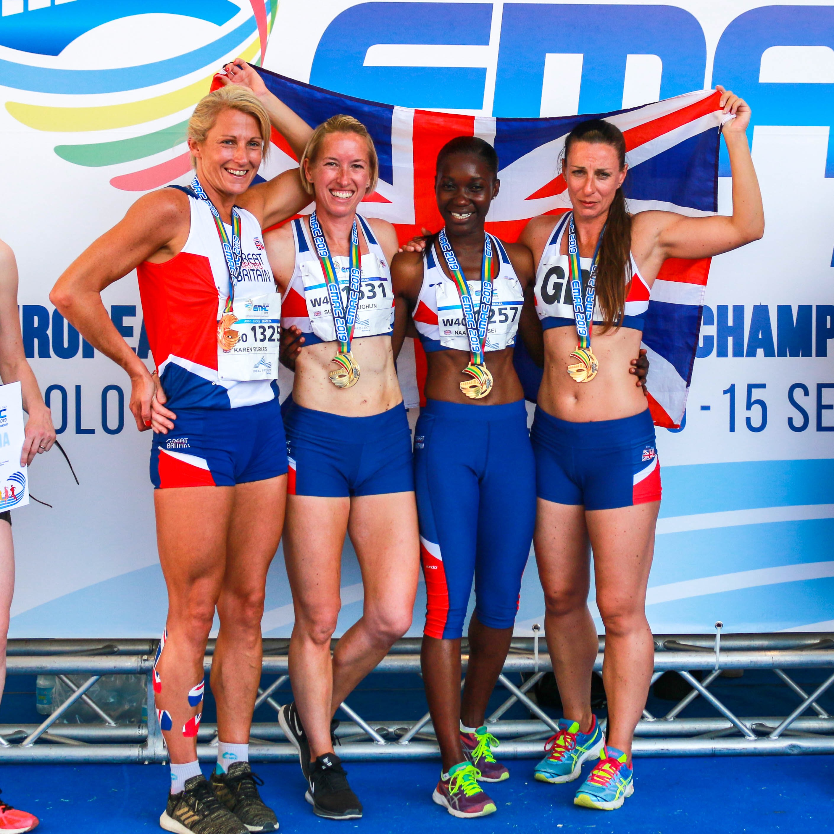 'Dream do come true! European Champions, British record holders and a Silver in the 4 x 400 m and 4th in the European 100m final. This is one running journey that will have no end.'